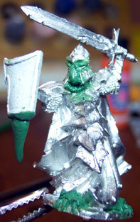 dragonborn miniature conversion greenstuff