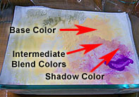 wet palette blending howto