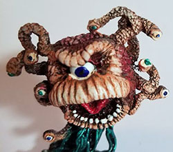 beholder painted miniature